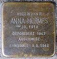 Stolpersteine Krefeld, Anna Hermes (Geldernsche Straße 175).jpg
