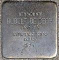 Stolpersteine Krefeld, Rudolf de Beer (Dießemer Straße 89).jpg