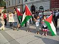 Stop Bombing Gaza (18 July 2014, Ljubljana, Slovenia) 14.JPG