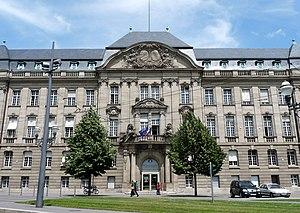 Bas-Rhin - Prefecture building of the Bas-Rhin department, in Strasbourg