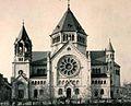 Strasbourg synagogue quai Kléber vue élévation façade 1898-1940.jpg