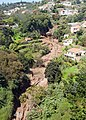 Stream downhill from Monte, view from the cableway - Funchal, Madeira Island.jpg
