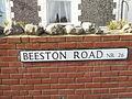 Street Sign, Beeston Road, Sheringham, 29 February 2016 (1).JPG