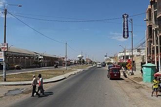 Lambayeque, Peru - Main street of Lambayeque