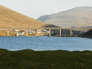 Streymin Bridge - Streymin Bridge in 2013