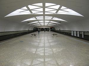Strogino (Moscow Metro) - Image: Strogino station (Moscow Metro)