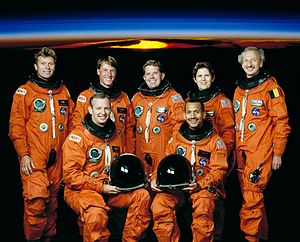 STS-45 - Image: Sts 45 crew