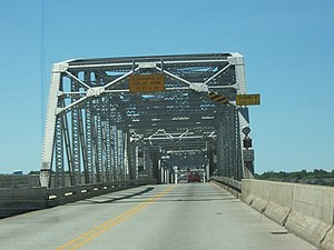 Sturgeon Bay, Wisconsin - Image: Sturgeon Bay Bridge July 2008WIS42WIS57