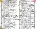 Subačiaus RKB 1832-1838 krikšto metrikų knyga 033.jpg