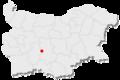 Suedinenie location in Bulgaria.png