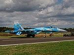 Sukhoi Su-27P Flanker, 58, Ukraine Air Force, Kleine Brogel, Belgian Air Force Days 2018 pic1.jpg
