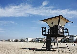 Sunset Beach, California Neighborhood of Huntington Beach in Orange, California, United States