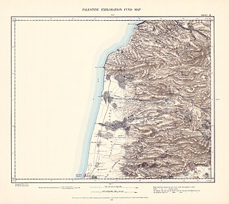 Majd al-Krum - Image: Survey of Western Palestine 1880.03