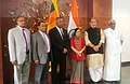 Sushma Swaraj, the Union Minister for Agriculture and Farmers Welfare, Shri Radha Mohan Singh, the Foreign Minister of Sri Lanka, Mr. Mangala Samarweera and the Minister of State for Road Transport & Highways and Shipping (1).jpg