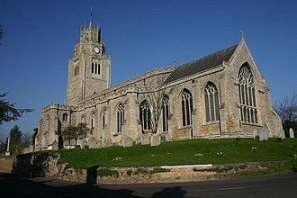 Lantern tower - Image: Sutton Church geograph.org.uk 378802