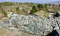 Sverresborg Trøndelag Folkemuseum Open air Cultural history museum Trondheim Norway 2019-04-26 Borgen Sion Zion Ruins of King Sverre's Castle 1182–83 View Oppdalstunet The city etc 05998.jpg