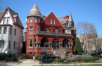 David F. Houston - Houston's former house in the Dupont Circle neighborhood of Washington, D.C..