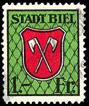 Switzerland Biel Bienne 1933 revenue 1Fr - 78C.jpg