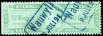 Switzerland Lucerne 1889 revenue 3 20c - 27.jpg