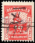 Switzerland Reconvilier 1919 revenue 2 20c - 3a.jpg