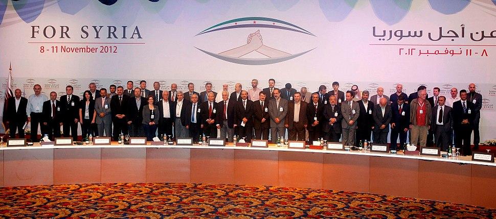 Syrian National Coalition Members 11-11-2012 (Press photo)