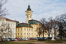 Szeged Town Hall in winter 2009 (1).JPG