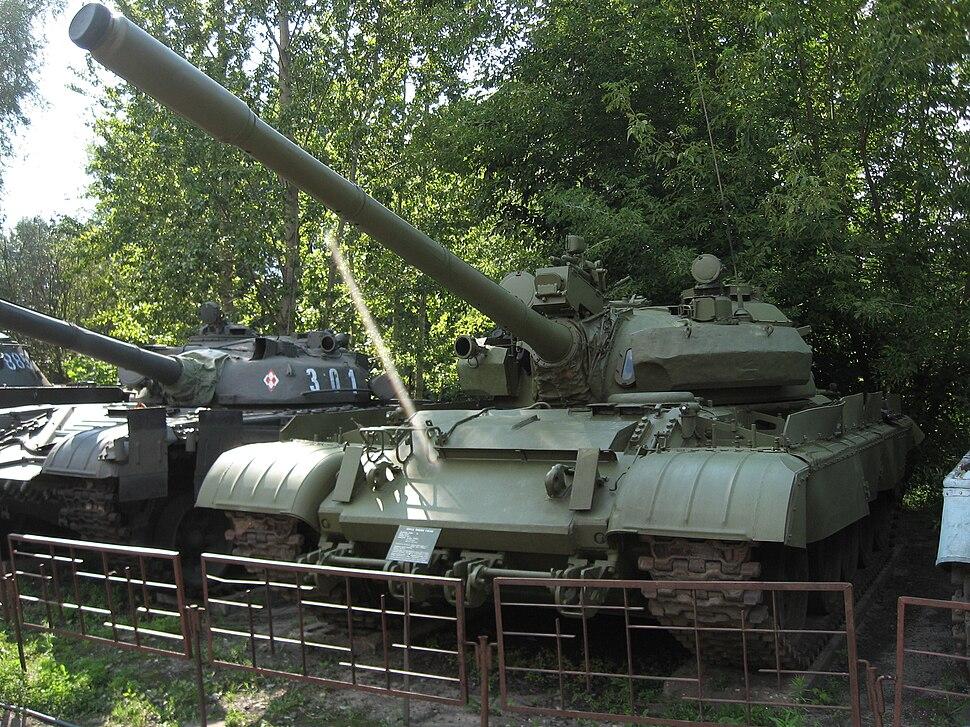 T-55AM main battle tank at the Muzeum Polskiej Techniki Wojskowej (2)