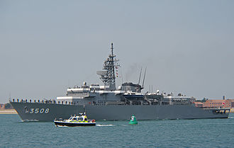 Training ship - The JDS Kashima at Portsmouth, in 2008