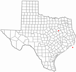 Location of Richland, Texas
