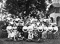 Tableau, Girls' school Fortepan 8899.jpg