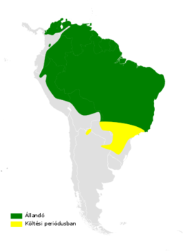 Tachycineta albiventer distribution map.png