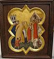 Taddeo gaddi, storie di cristo e di s. francesco (armadio di s. croce), 1335-40 ca. 14 rinuncia dei beni.JPG