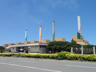Base load - A coal power station in Taiwan.
