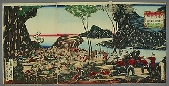 Japanese invasion of Taiwan (1874) - Image: Taiwan Shuppei