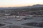 Takeoff from McCarran International Airport, Las Vegas, Nevada (15470224108) (cropped).jpg
