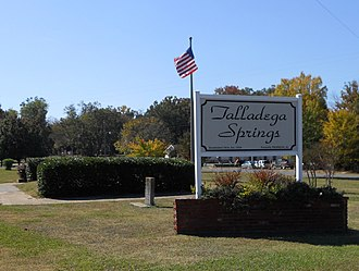 Talladega Springs, Alabama - Image: Talladega Springs, Alabama