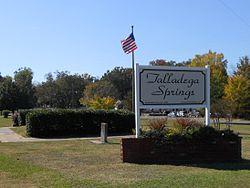 Talladega Springs, Alabama - Wikipedia, the free encyclopediatalladega springs town