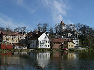 Talsi Town in Talsi Municipality, Latvia