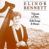 Talynau A Chan - Folk Songs & Harps, album cover.jpg