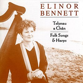 Talynau A Chan - Folk Songs & Harps, album cover.jpg