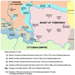 Banat Military Frontier - Image: Tamis banat 06