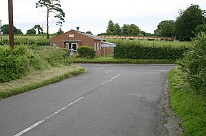 Clanville - Image: Tangley to Weyhill junction geograph.org.uk 478995