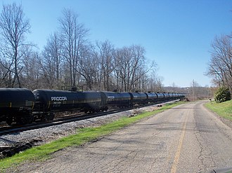 Procor - Image: Tank Cars in Augusta Township, Ohio