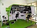 Tank Shooting Simulator System Display at Education Building Concourse 20130302a.jpg