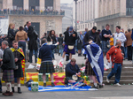 Scottish national team supporters - The Tartan Army