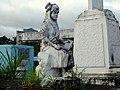 Tayabas Cemetery Tomb Statue.JPG