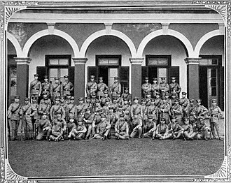 Shanghai Volunteer Corps - Japanese Company in the SVC, 1908.