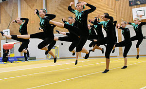 "English: Gymnastics-Competition ""Team-Tur..."