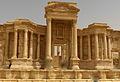 Teatro romano di Palmira, scena.jpg