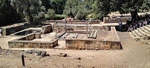 Jeroboam's Revolt - Remains of Jeroboam's alter at Tel Dan